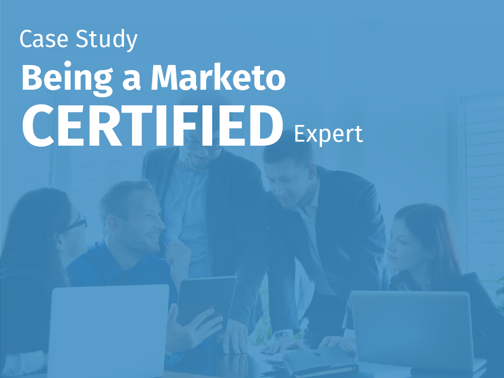 Being a marketo certified expert